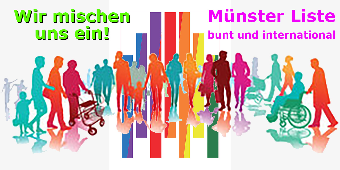Münster Liste bunt und international