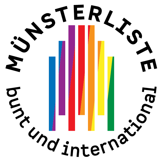 Münsterliste bunt und international