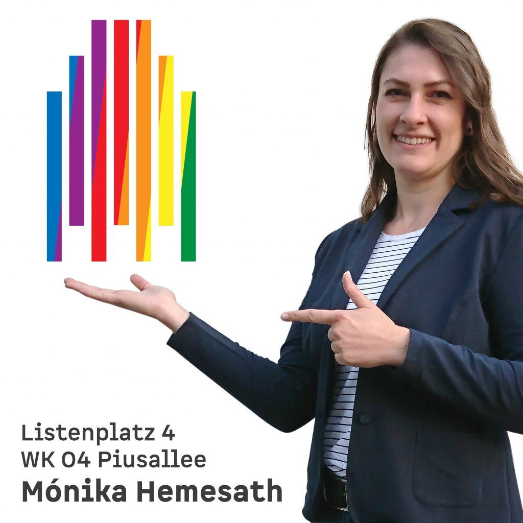 Listenplatz 4 WK 04 Piusallee Mónika Hemesath
