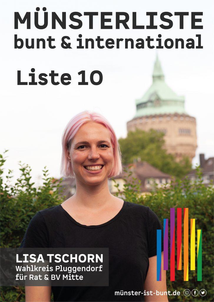 Lisa Tschorn für die Münsterliste